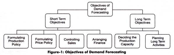 Objectives of Demand Forecasting
