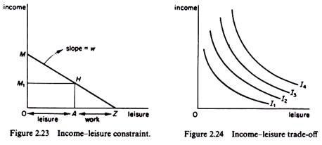 Income leisure constraint