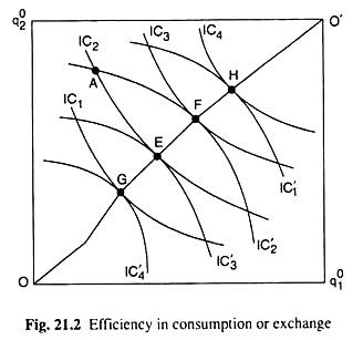 Efficiency in Consumption or Exchange